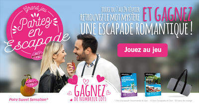Article jeu sweet escapade