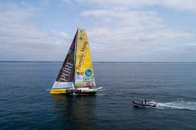 Route du Rhum Romain Attanasio